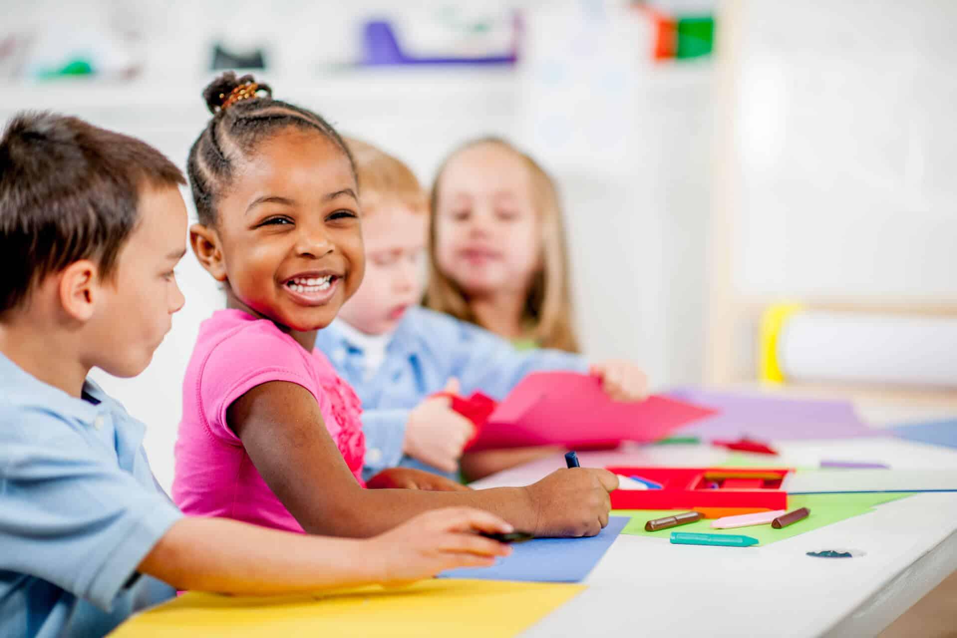 preschoolers coloring